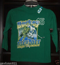NWT The Children's Place Boys Long Sleeve Graphic Tee Top X-Small (4 Yrs) Green