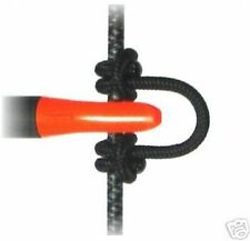 3 Pc Pack Black Superloop Release Nocking Nock D Loop Archery Bow By Cir-Cut New
