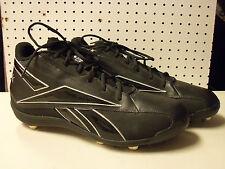 Reebok NFL New Mens Black Football Cleats 17 M Shoes