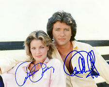 REPRINT - PATRICK DUFFY 1 PRISCILLA PRESLEY Dallas autograph signed photo