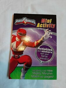 Marks and Spencer Power rangers mini activity book