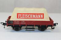 fg1025, RAR Alter Fleischmann Niederbordwagen Planwagen mit Planentuch 60er TOP
