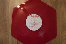 ROCKY MOTION -  INTENTION Hexagon shaped Red vinyl 1980 4 song