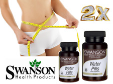 2X Swanson Diet Water Pills 120 Tablets (x2) For 4 Months Using