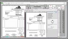 Rechnungssoftware mit Lieferschein und Mahnwesen Produktpalette und PDF Funktion