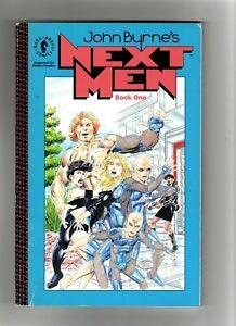 John Byrne's Next Men Book One TP TPB (1993) 1st printing Dark Horse Comics