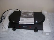 Silvercrest Dual Hotplate New Never used  99p no reserve