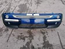 BMW MINI COOPER ONE R50 R52 R53 2001-2006 FRONT BUMPER- IN BLUE . 862/5