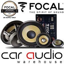 """Focal ES165KX3 Elite K2 6.5"""" 240 Watts 3 Way Car Stereo Component Door Speakers"""