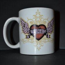 "Hard Rock Cafe Cozumel Coffee Mug ""Live, Love, Rock"" Heart with Wings Ceramic"