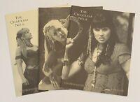 "XENA Warrior Princess ""The Chakram"" Official Fan Club Newsletter - #6, #7, #8"