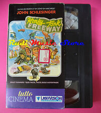 VHS film HONKY JONK FREEWAY John Schlesinger TUTTO CINEMA 90 minuti (F37) no dvd