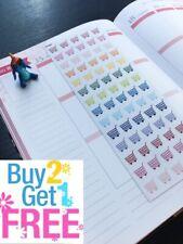 S-006 --Shopping, Grocery Planner Stickers for Erin Condren, plum planner