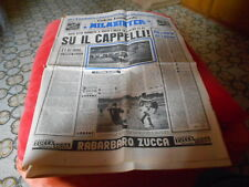 CALCIO RIVISTA MILAN INTER NR 18  2-5-1960