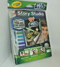 2012 Unopened Vintage Crayola Story Studio Star Wars Create Stories Ages 3+