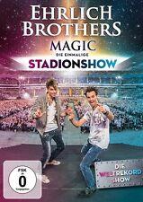 MAGIC-DIE EINMALIGE STADIONSHOW - EHRLICH BROTHERS   DVD NEU