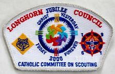 Longhorn Council (TX) 2000 Catholic Committee on Scouting Retreat SA-31 CSP  BSA
