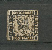 Bergedorf  2 ongestempeld zonder gom; Neudruck Paalzow (?)