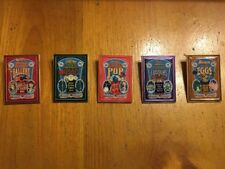 WDI Toy Story Mania Poster Pin Set Complete Limited Edition Of 300
