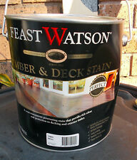 "Feast Watson Timber & Deck Stain ""MERBUA/KWILA"" 4 Litre can  - pick up only"