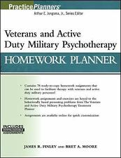 VETERANS AND ACTIVE DUTY MILITARY PSYCHOTHERAPY HOMEWORK PLANNER, (WITH DOWNLOAD