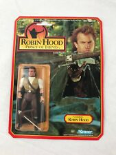 1991 Robin Hood Prince of Thieves CROSSBOW Figure Kenner NEW MOC, Kevin Costner