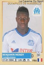 226 BENJAMIN MENDY FRANCE OLYMPIQUE MARSEILLE OM STICKER FOOTBALL 2015 PANINI ~