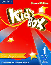 Cambridge KID'S BOX 1 Activity Book with Online Resources SECOND EDITION @NEW@