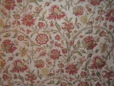"""Lee Jofa,  Mulberry Home """"Cambridge Print"""" floral with birds BTY clr pink/green"""