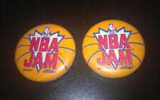 Vintage NBA Jam Game Promo Pin Button Midway Akklaim