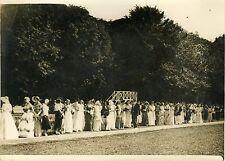 """""""Fête d'élégance (Polo de Bagatelle 1931)"""" Photo originale G. DEVRED / Agce ROL"""