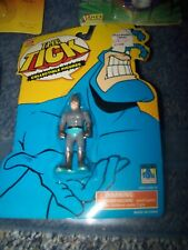 The Tick Collectible Figures Human Bullet Bandai 1994 New On Card