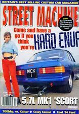 STREET MACHINE FEBRUARY 1996-PRO STREET V8 MK1 ESCORT-CONSUL CAPRI-51 KAISER-ROD