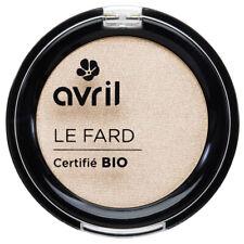 Fard à Paupières Désert Certifié Bio Vegan Naturel Cosmétique Écologique AVRIL