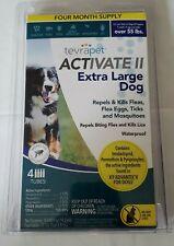 Flea & Tick Prevention, Tevrapet, Activate Ii, Extra Large & Large Dog 2 Bundle