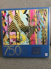 Gold Dore 750 Piece Jigsaw Puzzle Spin Master, MB Puzzle, Hasbro Gaming 27x20