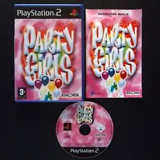 PARTY GIRLS PlayStation 2 UK PAL English・♔・MINI GAMES D3PUBLISHER THE水泳大会 PS2