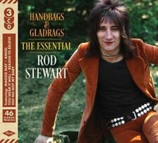 ROD STEWART HANDBAGS & GLADRAGS THE ESSENTIAL 3 CD (New Release 20th April 2018)