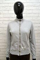 Felpa CHAMPION Donna Taglia M Maglione Pullover Sweatshirt Cotone Grigio Woman