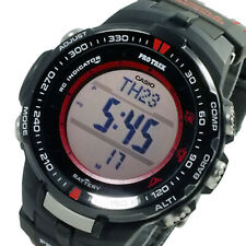 Casio Pro-Trek PRW-3000G-1 Black Atomic Sensor Solar Compass Mens Watch PRW-3000