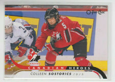 09/10 OPC Team Canada Colleen Sostorics Canadian Heroes card #CB-CS