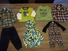 "Pre-loved Bulk Bundle ""Sprout"" ""Bonds"" ""Target"" ""H+T"" Boy Clothes Size 0-1"