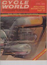 April 1966 BAS 440 victor Montesa 250 La Cross  Cycle World Motorcycle Magazine