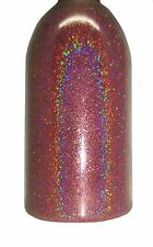 Rose Pink Holographic .004 True Ultra Fine Nail Glitter Art Powder DIY Polish!