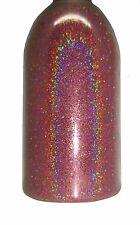 Rose Pink Prism Holographic DIY Glitter 0.2oz Ultra Fine .004 Nail Art Polish!
