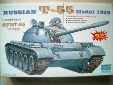 Trumpeter-1/35-#00342- RUSSIAN T-55 MODEL 1958 TANK