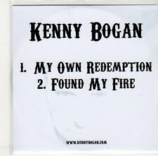 (ER61) Kenny Bogan, My Own Redemption / Found My Fire - DJ CD