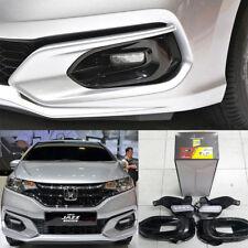 Equip 17+ Honda Jazz Fog Lamp Light Cover With Led Daytime Running Light