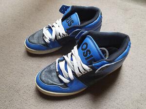 Osiris South Bronx US 11 UK 10 Blue worn