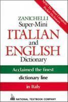 Zanichelli Super-Mini Italian and English Dictionary  Good
